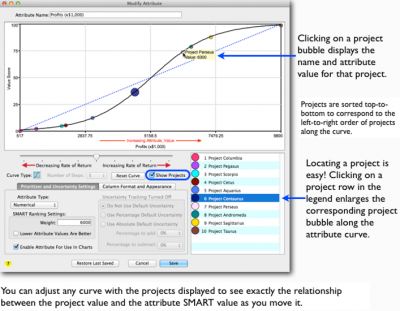 Figure 2: New SMART Project Prioritization Form with Selected Project